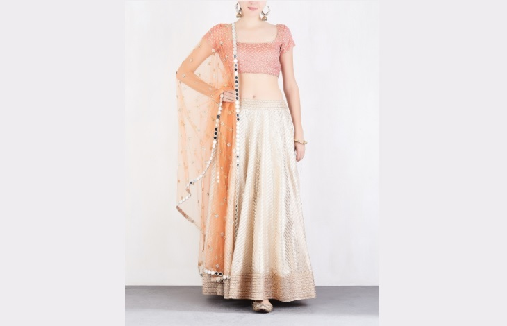 Abhinav Mishra Lehenga set from Ogaan