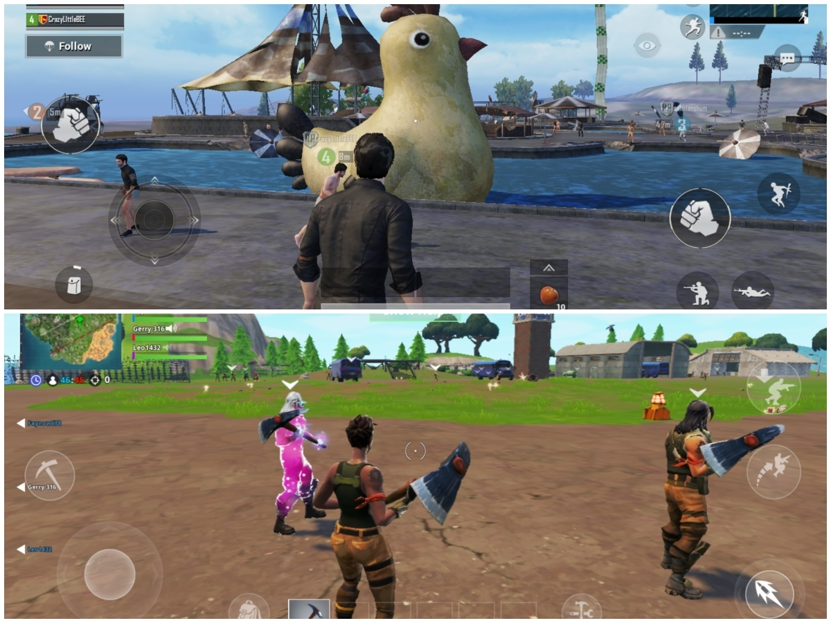 Pubg Vs Fortnite Pubg Vs Fortnite What Is The Major Difference In - pubg is more focused towards providing some true to life looking graphics starting from avatars weapons vehicles and more on the other hand