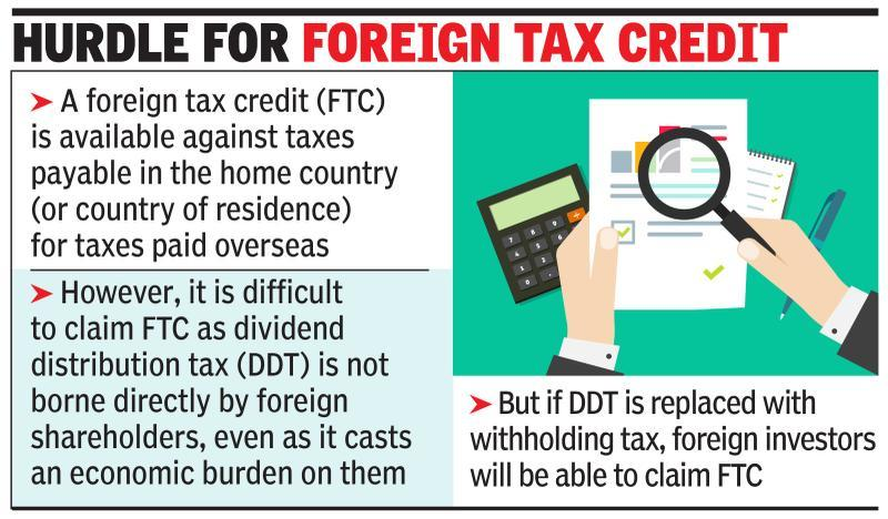 Tax law panel may look to drop DDT