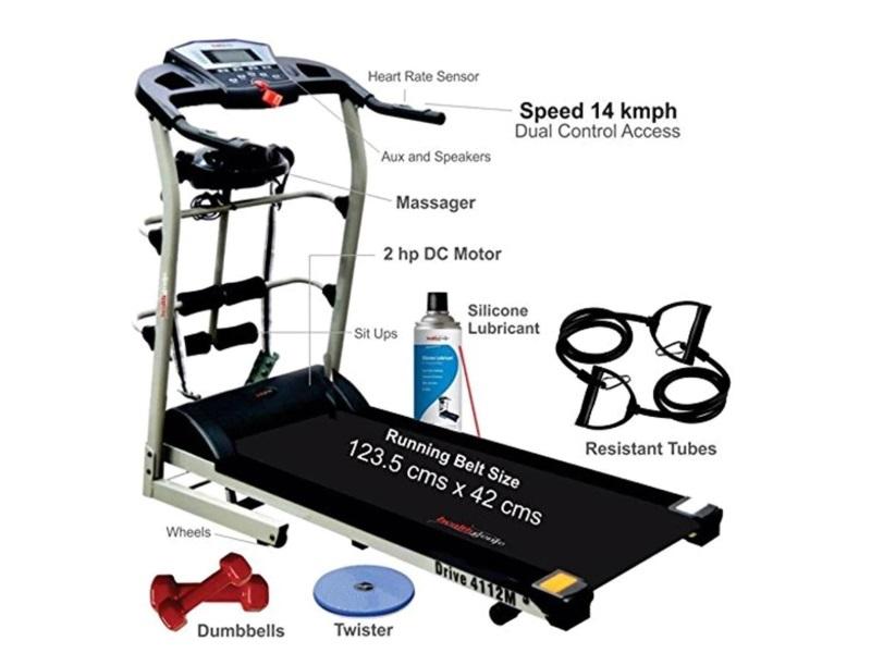 Healthgenie 7in1 Motorized Treadmill 4112M
