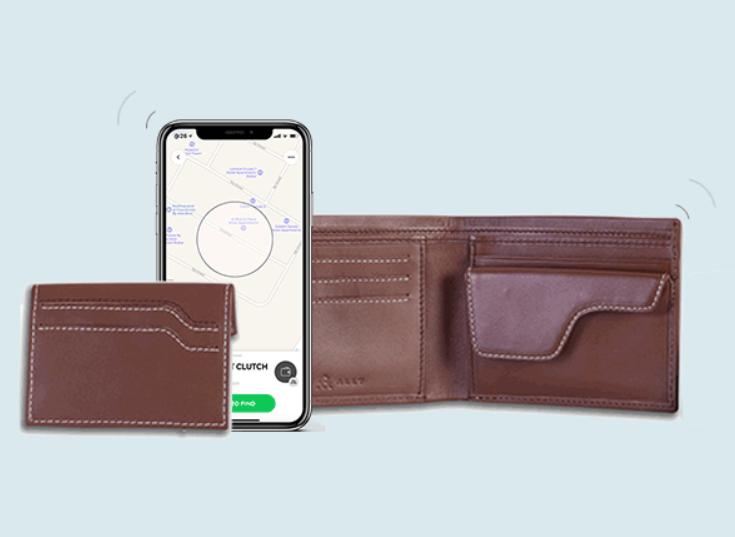 Cuir Ally Explorer Smart Wallet