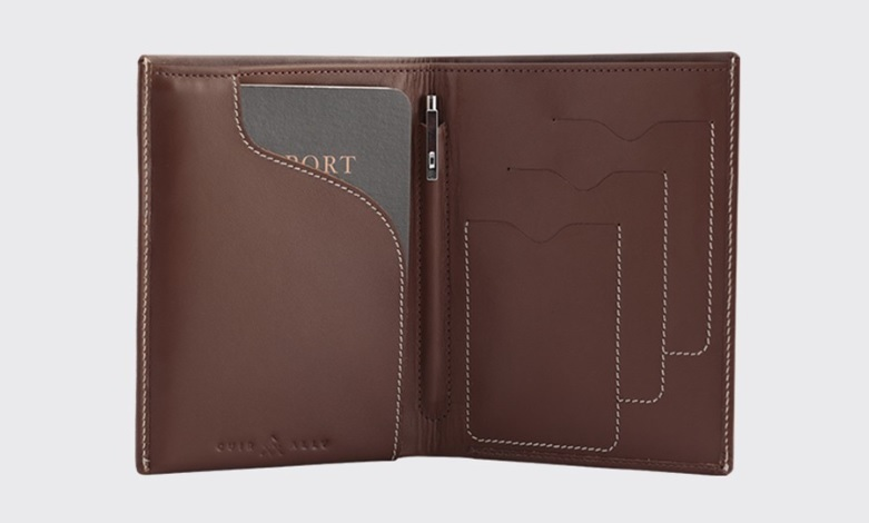 Cuir Ally Voyager Smart Wallet