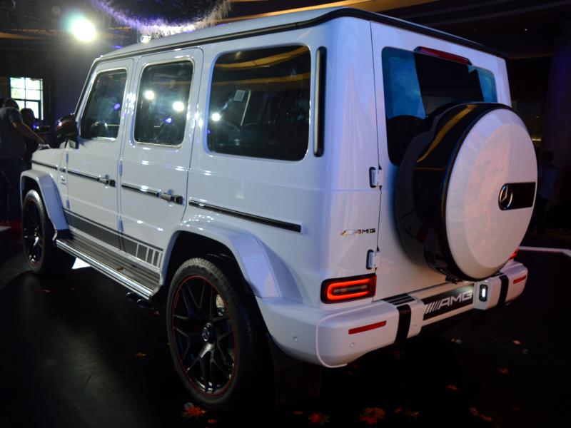 mercedes: New Mercedes-Benz G63 AMG launched at Rs 2 19