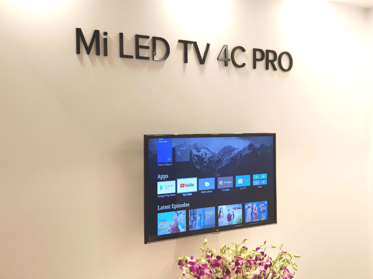Xiaomi TV: Xiaomi Mi LED 4 Pro, 4A Pro and 4C Pro TVs: Quick