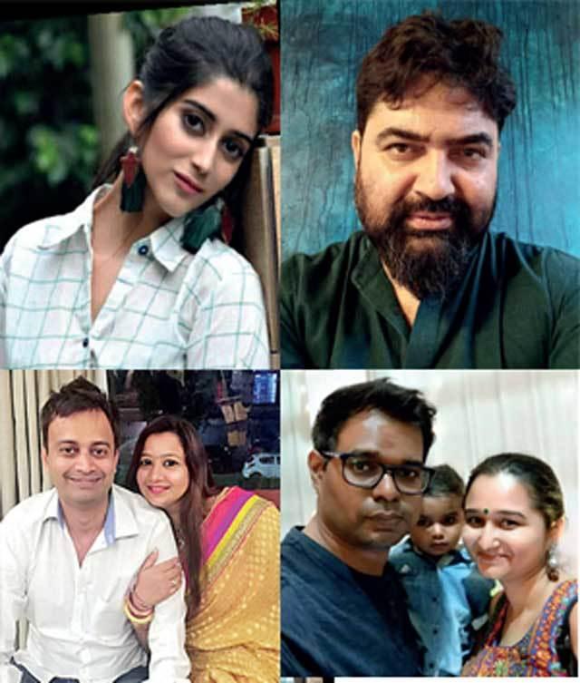(Top) DEEKSHA JOSHI , PRAVIN MISHRA, (Bottom) RUCHI SINGH, VISHAL KSHATRIYA & SACHI OTIA