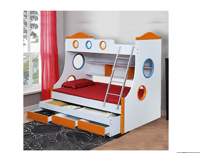 Royaloak Remo Double Size Bunk Bed