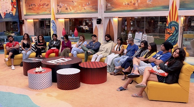 The contestants wait to know who will be evicted tonight