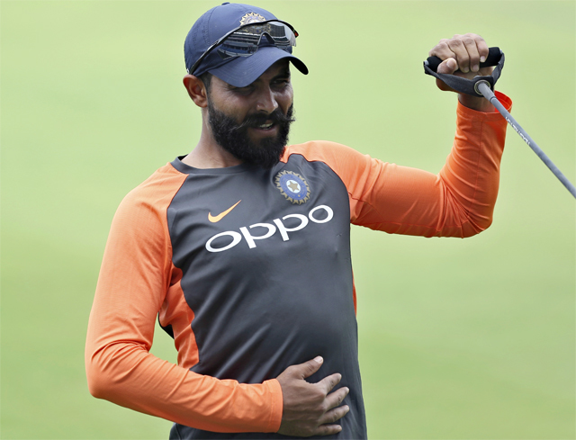 Ravindra Jadeja, seen at nets in Hyderabad yesterday, might continue to be part of India's ODI outfit, following his impressive show in the Asia Cup
