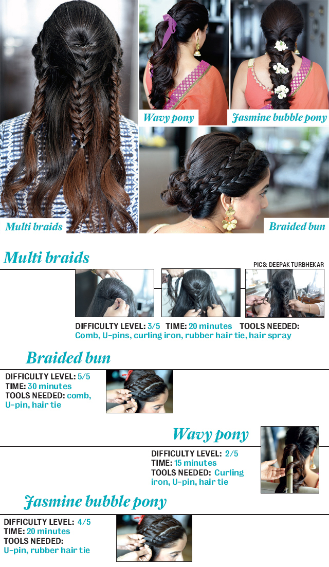 4 great hairstyles for the season