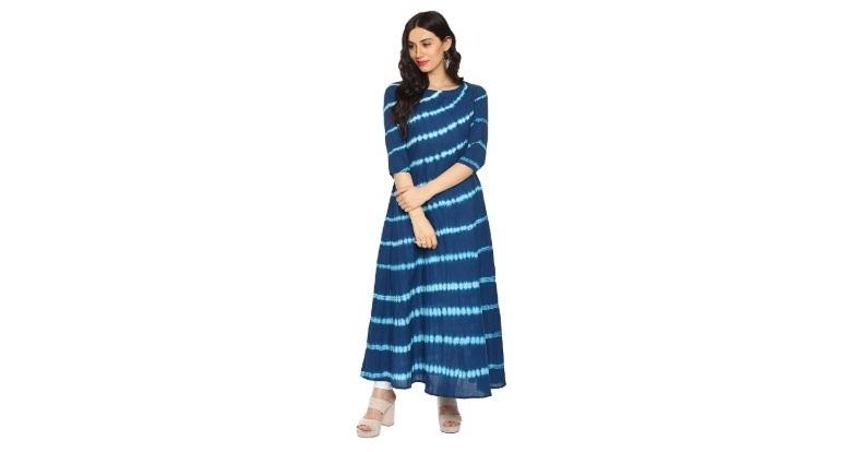 Amayra Women's Cotton A-Line Kurti