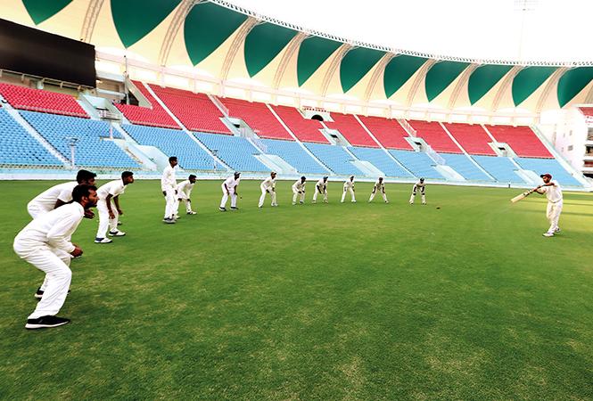 An inside view of Ekana Cricket Stadium, Lucknow (BCCL/ Vikas Babu)