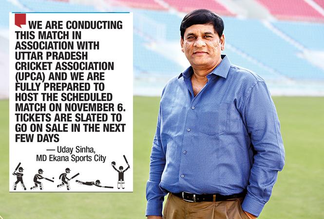 Uday Sinha, MD, Ekana Sports City (BCCL/ Vikas Babu)