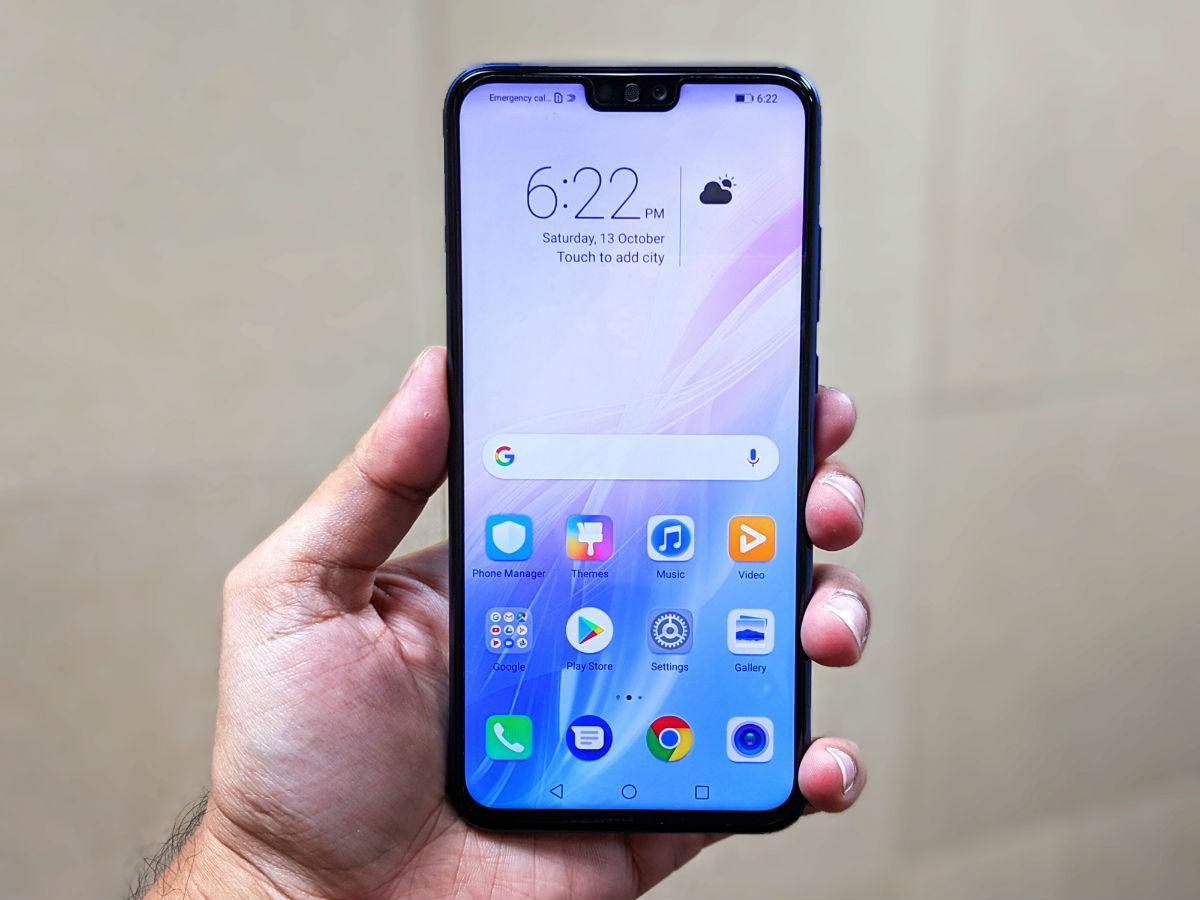 Honor 8X launched: First impressions | Gadgets Now