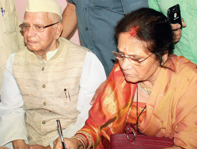 Tiwari married Ujwala Sharma at the age of 88 in a quiet ceremony in Lucknow two months after a Delhi court ruled in her son's favour who had filed a paternity suit against him in 2008