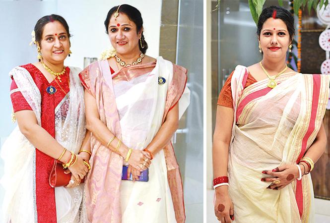 (L) Akancha and Manpreet (R) Bhawana (BCCL/ Pankaj Singh)