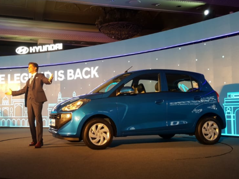 All new Hyundai Santro launched, prices start at Rs 3 9 lakh
