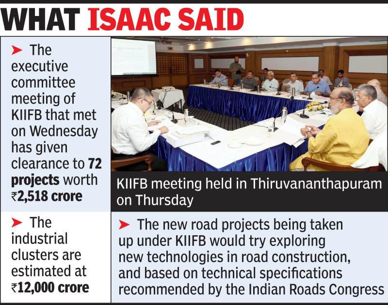 KIIFB meet clears seven projects worth Rs 13K crore