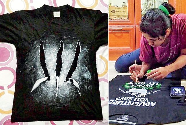 For Sankar, t-shirt painting is passion over profit