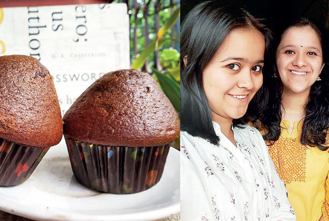 The sisters hope to eventually open a café for their baked goods