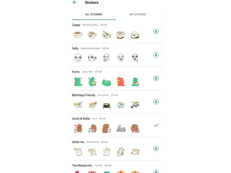 whatsapp stickers: How to use, download and manage stickers
