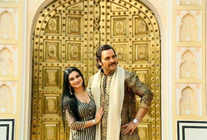 Shahbaz and Tasneem posing for Jaipur Times