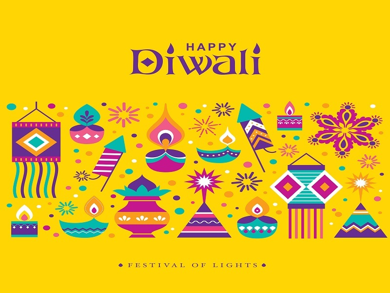 Happy Diwali 2018 Images, Cards, Pictures, Quotes, Wishes, Messages, Status, Greetings, Photo, Wallpaper