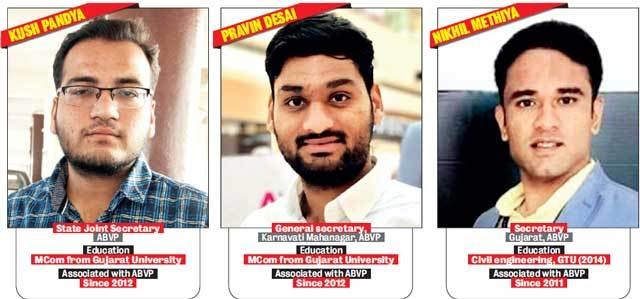 The strong-arm tactics of ABVP leaders
