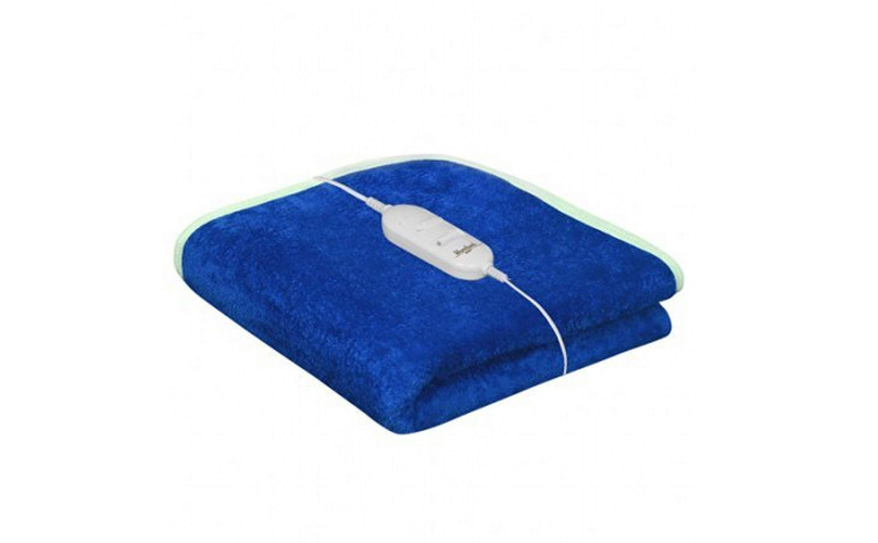 Cozyland Single Bed Electric Bed Warmer - Blue