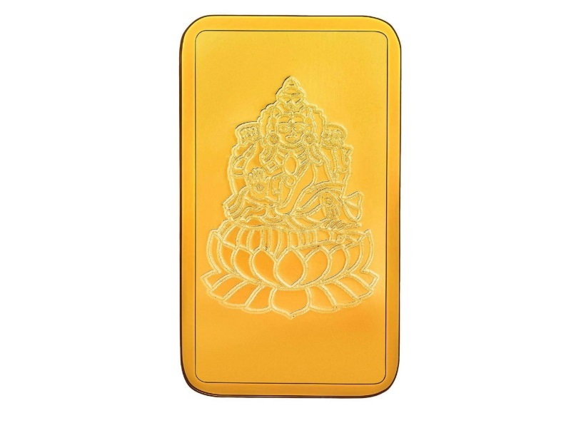 RSBL 4 gm Lakshmi Gold Bar