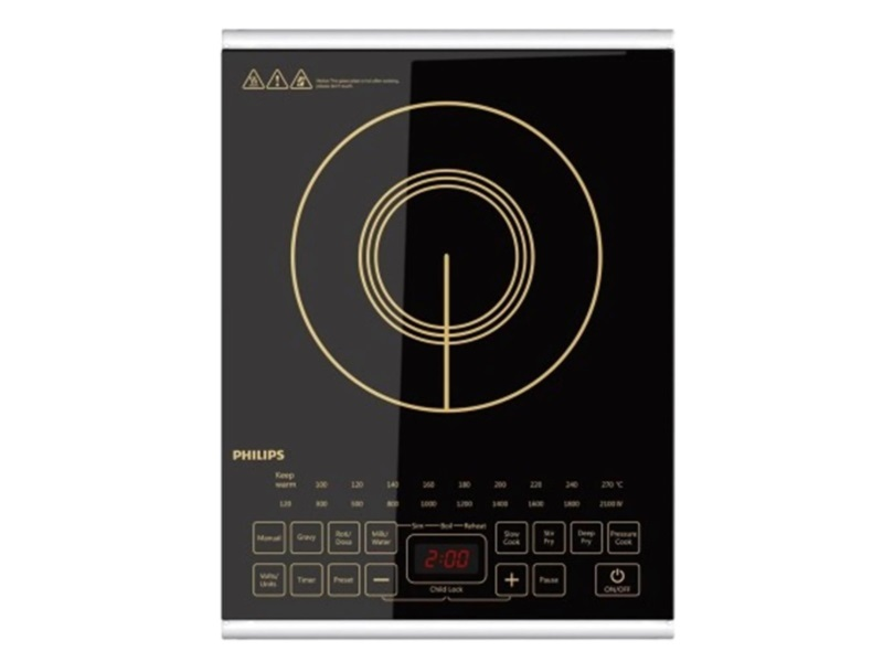 Philips HD4938 2100 W Induction Cooktop