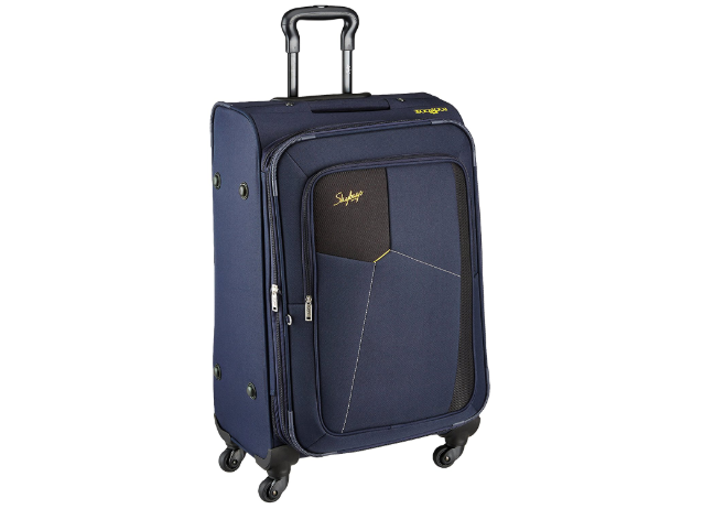 Skybags Footloose Rubik Polyester 580 mm Blue Softsided Cabin Luggage