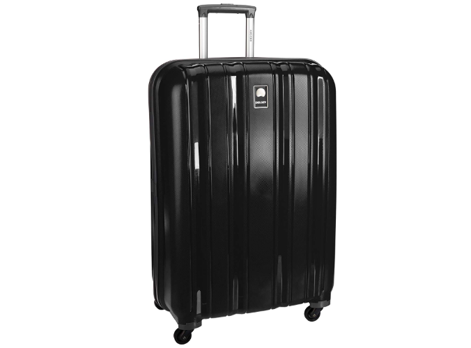 Delsey Cervin Polypropylene 79 cms Black Hardsided Suitcase
