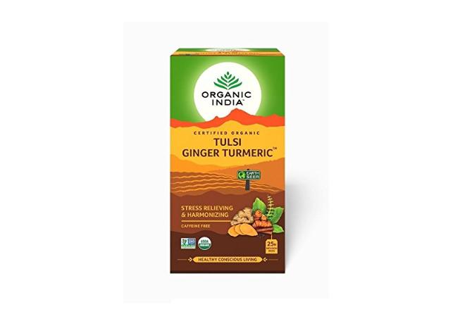 Tulsi Ginger Turmeric Tea