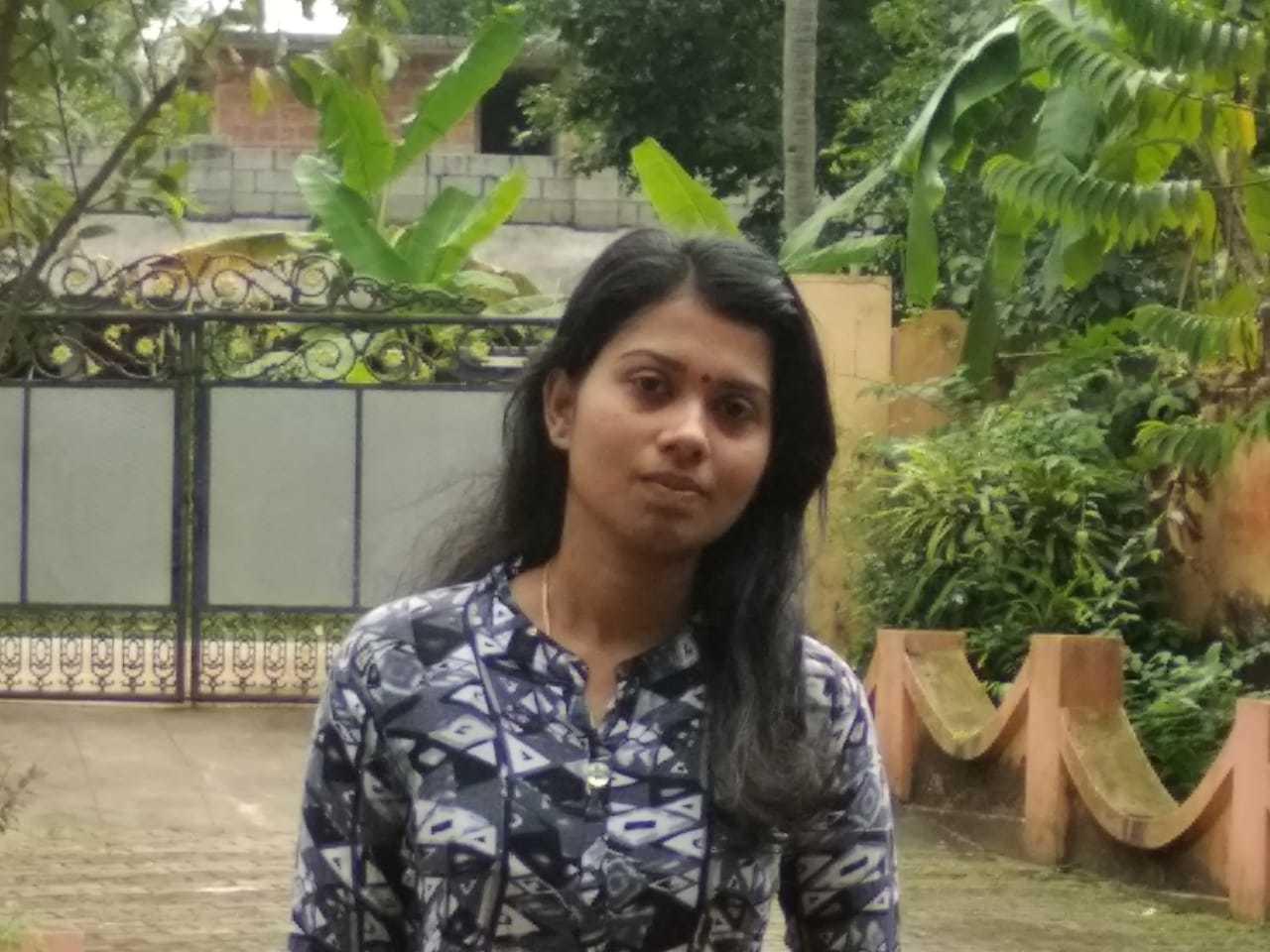 Athira B Asok, Karyavattom Campus, Thiruvananthapuram