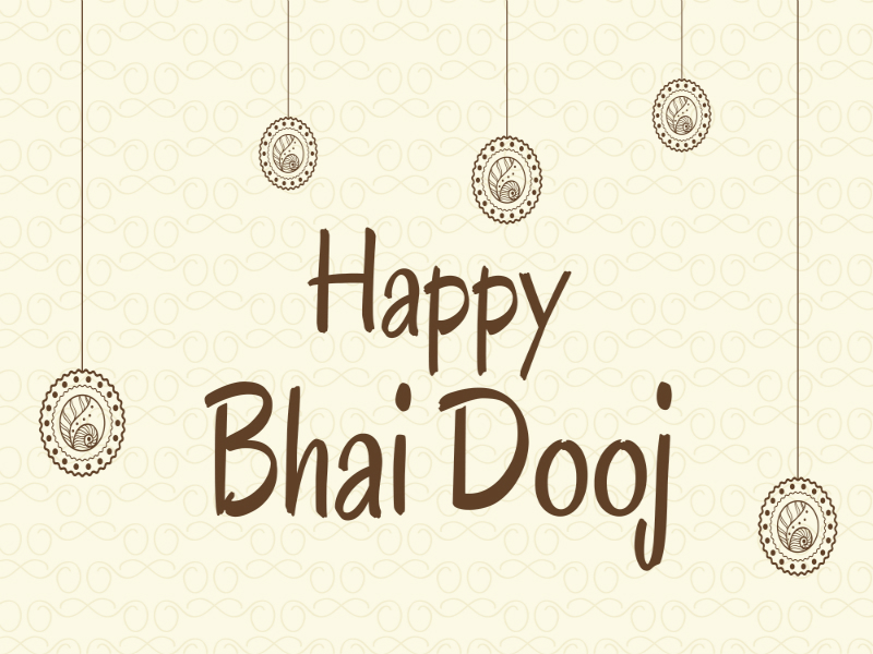 Bhai Dooj 2018 Greetings, Wishes, Images, WhatsApp Messages Happy Diwali 2018