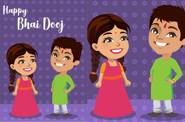 Happy Bhai Dooj 2018 Greetings, Photo, Wallpaper