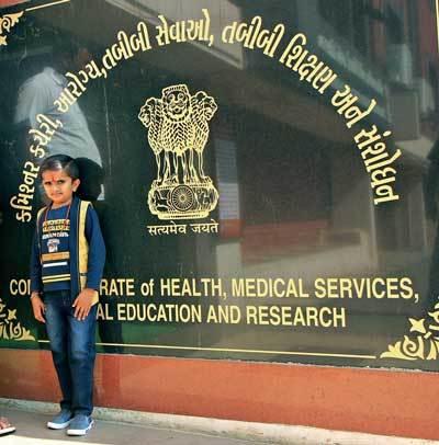 Ganesh Baraiya wishes to become a skin specialist ; Pics: NILKANTH DAVE