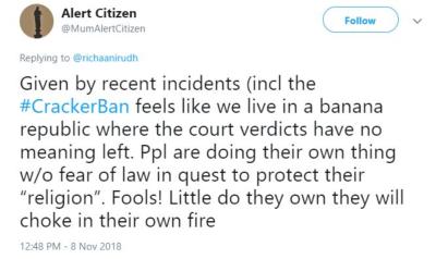 Tweet cracker ban 400