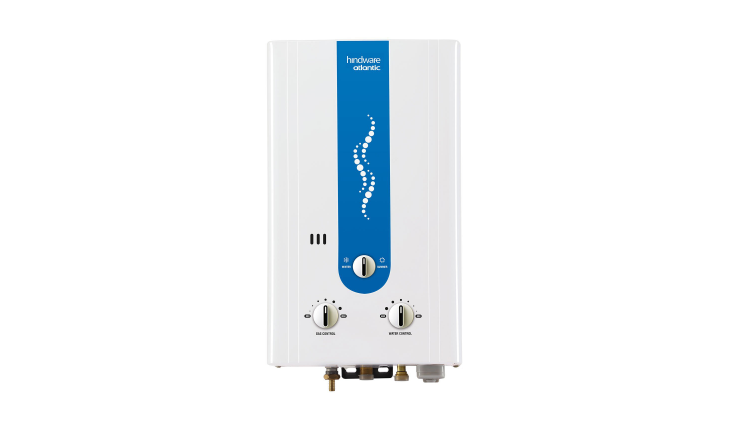 Hindware Atlantic 6L LPG and PNG Geyser Water Heater, White