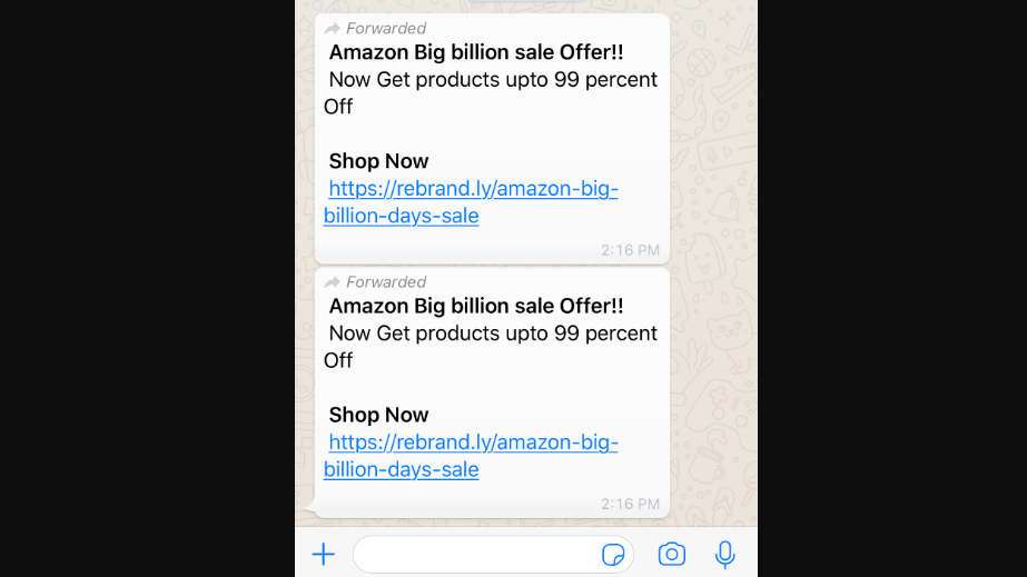 WhatsApp: Don't fall for this WhatsApp-Amazon scam - Latest News
