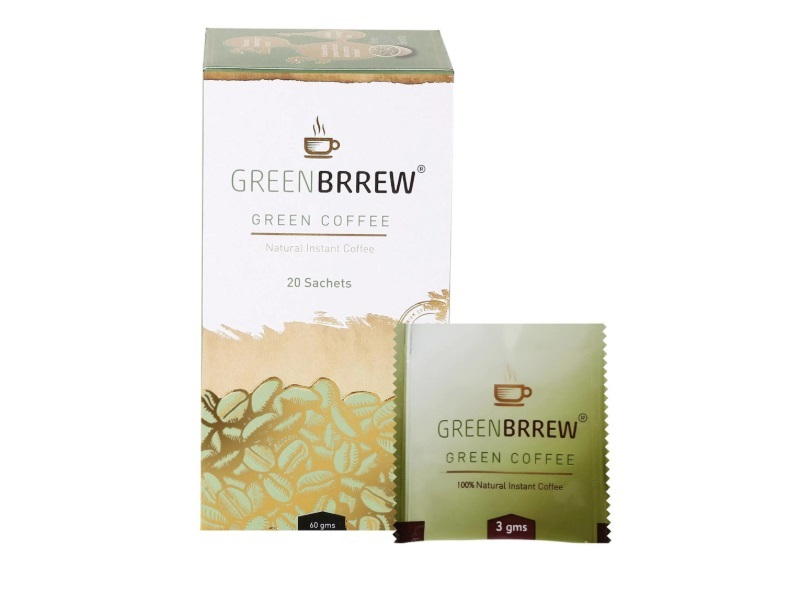 Greenbrrew Natural Green Coffee for Weight Loss