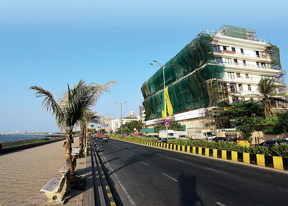 The bungalow received BMC clearances in September