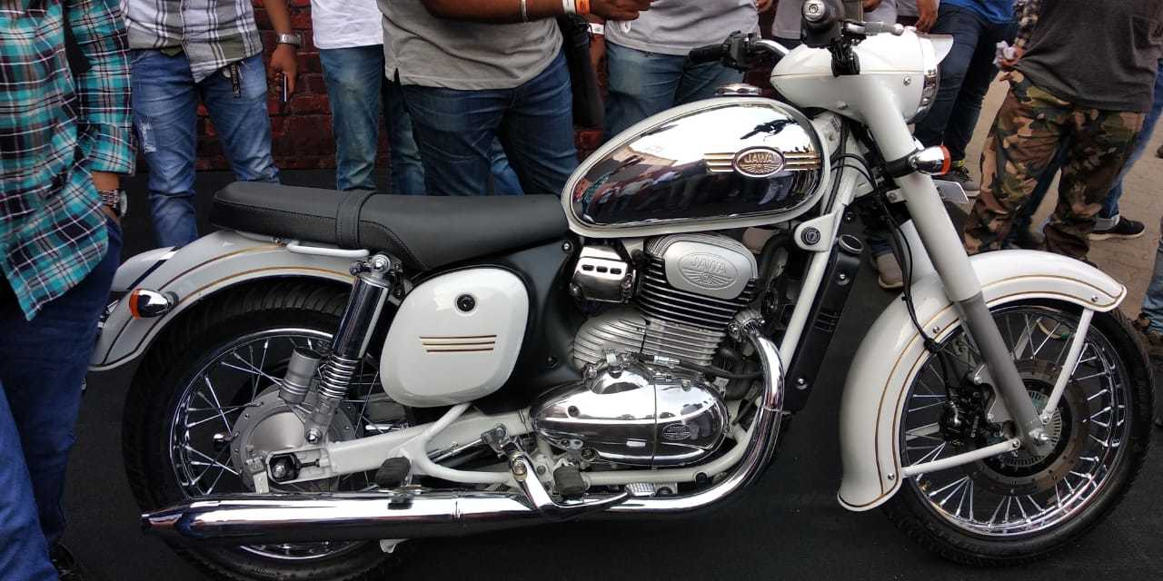 these jawa enthusiasts who are all members of the bangalore jawa yezdi motorcycle club say they are mightily impressed with the three newly launched