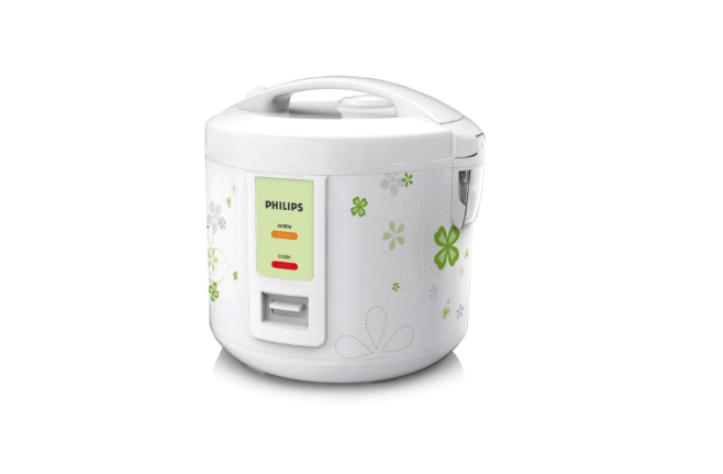 Philips HD3017/08 1.8 L Rice Cooker (White)