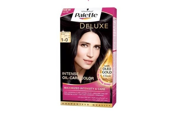 Schwarzkopf Palette Deluxe Intense Oil Care Color - Deep Natural Black
