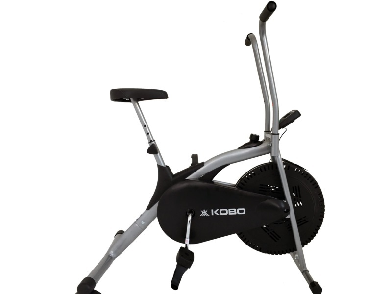 Kobo Air Bike Delux Exercise Cycle With Electronic Meter