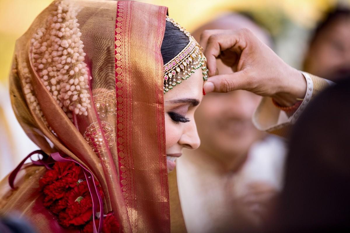 Deepika during the Konkani ceremony