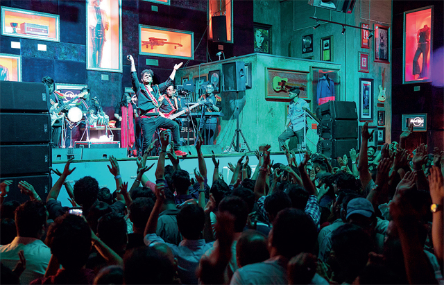 Hard Rock Cafe, Worli opened in 2006, changing Mumbai's live music scene