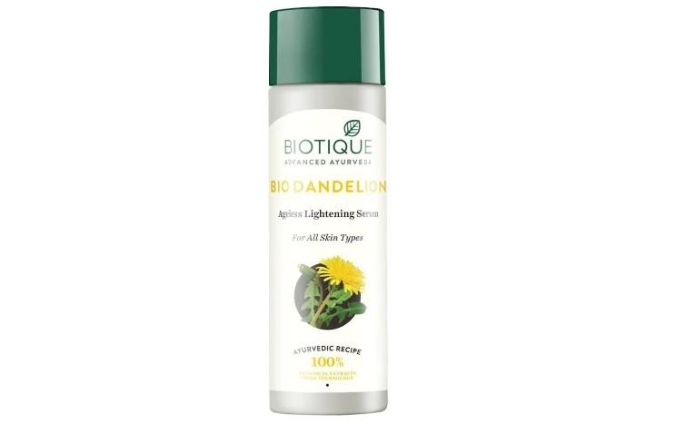 Biotique Bio Dandelion Ageless Lightening Serum