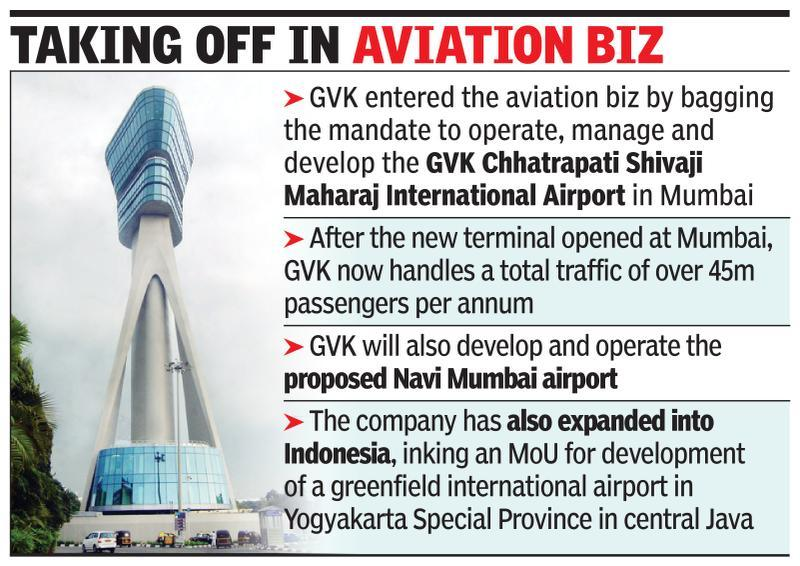Spain's Ferrovial, Canada's PSP eye GVK Airport stake - Times of India